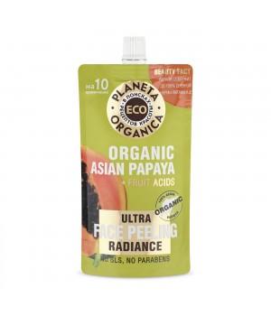 "Planeta Organica Eco Пилинг для сияния кожи лица ""Organic asian papaya"" 100 мл"
