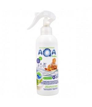 AQA baby Антибактериальный спрей для очищения всех поверхностей в детской комнате 300 мл