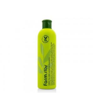 Farmstay Увлажняющая эмульсия с семенами зеленого чая Green Tea Seed Moisture Emulsion 300 мл
