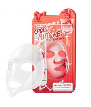 Elizavecca Маска для лица тканевая с коллагеном Collagen Deep Power Ringer Mask Pack 23 мл