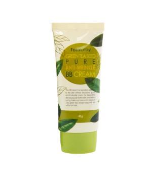 Farmstay Антивозрастной BB крем с экстрактом зеленого чая Green Tea Seed Pure Anti Wrinkle BB Cream 40 г