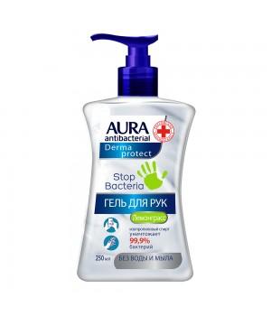 Aura Antibacterial Derma Protect Антибактериальный гель для рук 250 мл