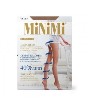 Minimi Колготки Avanti 40 (утяжка по ноге) Nero 2