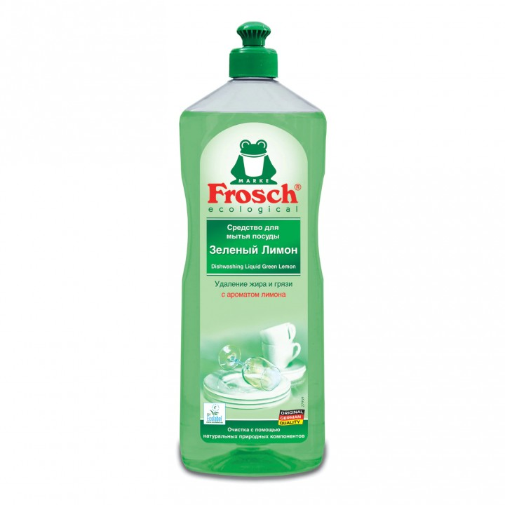 "Frosch Средство для мытья посуды ""Зеленый лимон"" 1000 мл"