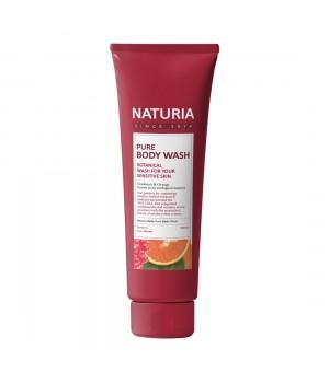 "Naturia Гель для душа ""Клюква и апельсин"" Pure Body Wash Cranberry & Orange 100 мл"