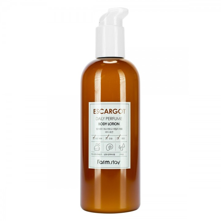 Farmstay Парфюмированный лосьон для тела с муцином улитки Daily Perfume Body Lotion Escargot 330 мл