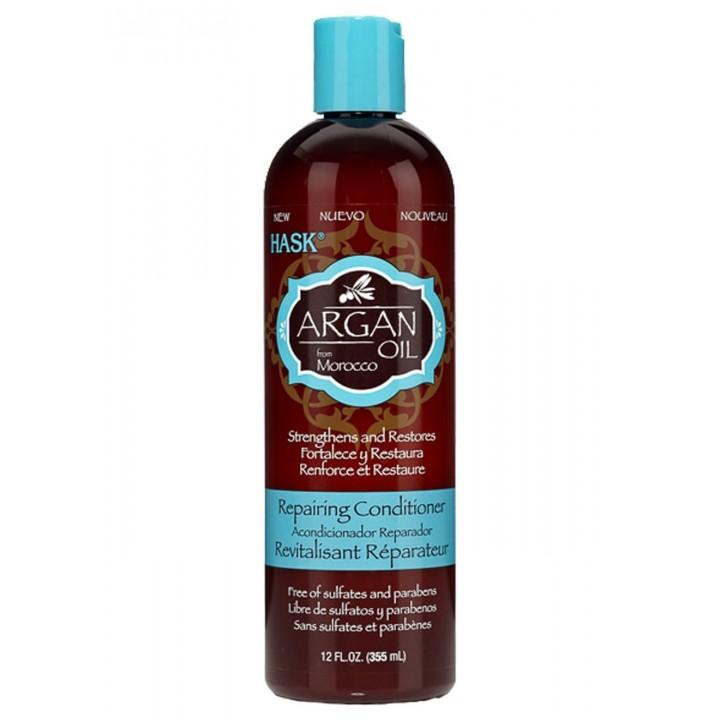 Hask Восстанавливающий кондиционер для волос с аргановым маслом 355 мл