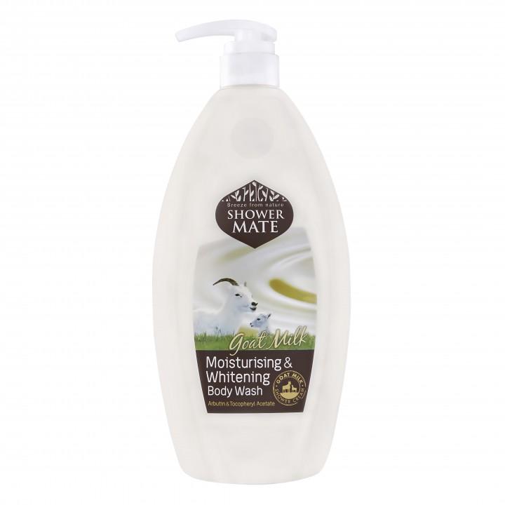 """Shower Mate Goat Milk Гель для душа """"Увлажняющий на козьем молоке"""" 550 мл"""