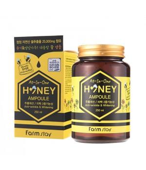 Farmstay Многофункциональная сыворотка с медом All-in-One Honey Ampoule 250 мл
