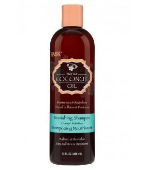 Hask Питательный шампунь для волос с кокосовым маслом 355 мл