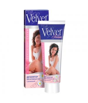 Velvet Крем для депиляции для интимных зон с ромашкой 100 мл