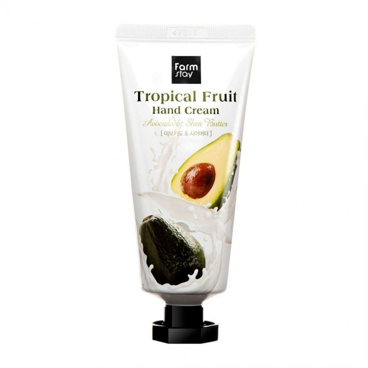 """Farmstay Крем для рук """"Тропические фрукты"""" с авокадо и маслом ши 50 мл"""
