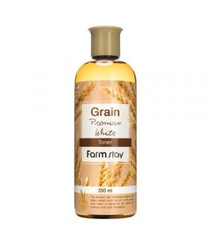 Farmstay Выравнивающий тонер с экстрактом ростков пшеницы 350 мл