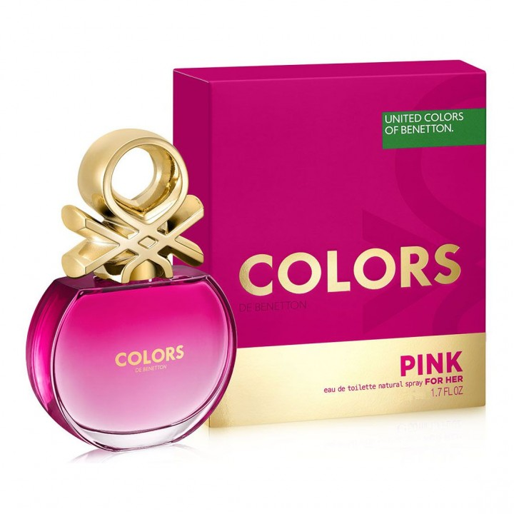Benetton Colors Pink W edt 50 ml