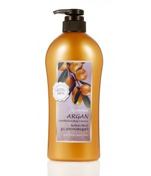 Welcos Argan Gold Moisture Body Cleanser Гель для душа c маслом арганы и золотом 730 мл