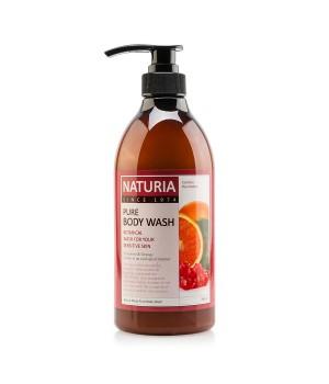 "Naturia Гель для душа ""Клюква и апельсин"" Pure Body Wash Cranberry & Orange 750 мл"
