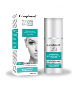 Compliment Skin Care Lab Освежающий детокс-концентрат для лица 60 мл