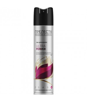 Прелесть Professional Лак для волос Ultra Power 300 мл