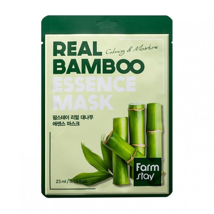 Farmstay Тканевая маска для лица с экстрактом бамбука 23 мл
