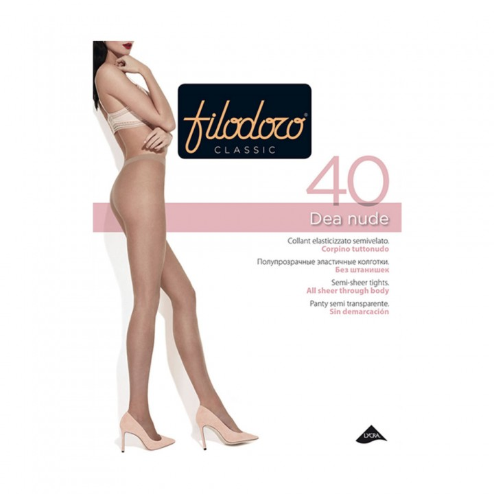 Filodoro Колготки Dea Nude 40 Nero 4