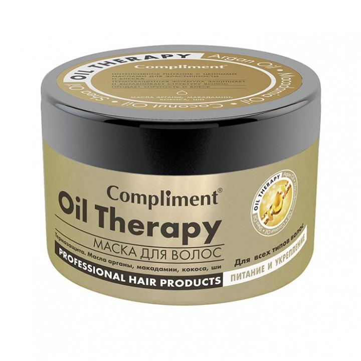 "Compliment Маска для всех типов волос ""Oil Therapy"" питание и укрепление 500 мл"