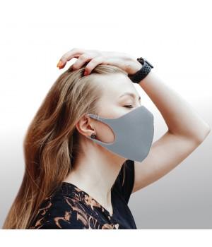 Dizao 3D Fashion Mask Многоразовая защитная маска (серая)