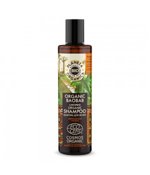 "Planeta Organica Bio Organic Baobab Шампунь для волос ""Африканская густота"" 280 мл"
